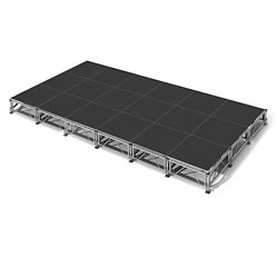 "All Terrain Vinyl Top Stage Set - 12'W x 24""D, 86406"