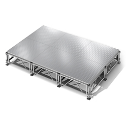 Aluminum Stage Set 96 Sq Ft, 86407