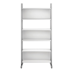 "83.5""H 6 Shelf Modern Wall Mounted Bookcase, 32030"