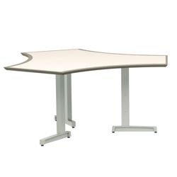 Markerboard Top 6 Sided Conference Table, 41760