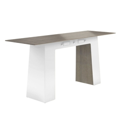 """Powered Standing Height Conference Table - 96""""W x 30""""D, 41763"""