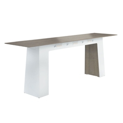 """Powered Standing Height Conference Table - 120""""W x 30""""D, 41764"""