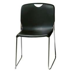 Sled Base Plastic Stack Chair, 50872