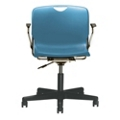 Plastic Task Chair with Arms, 50874