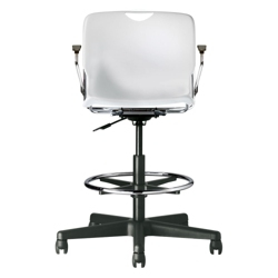 Plastic Stool with Arms, 50876
