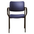 Fabric Stack Chair with Arms, 52375