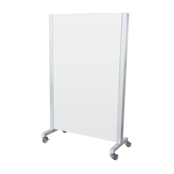 """40""""W x 63""""H Dual Sided Mobile Whiteboard , 80547"""
