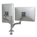 Reduced Height Dynamic Double Monitor Desk Mount, 60061
