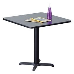 "30""W  Square X-Base Breakroom Table, 41997"