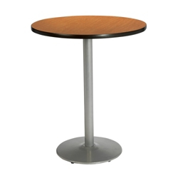 "Round Bar Height Pedestal Table - 30"" Diameter, 44020"