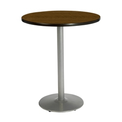 "Round Bar Height Pedestal Table - 42"" Diameter, 44022"