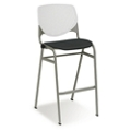 Figo Stool with Fabric or Polyurethane Seat, 44444