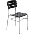 Slatted Wood Breakroom Chair, 44694