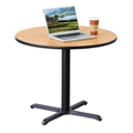 "36"" Round Table with X Base, 46001"