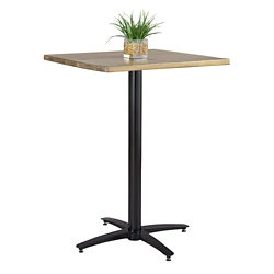 "Café Height Solid Wood Table - 30""Wx30""Dx41""H, 47064"