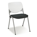Figo Stack Chair with Fabric or Polyurethane Seat, 51706