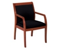 Guest Chair with Wood Frame, 55579