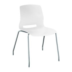 Armless Poly Stack Chair, 57528
