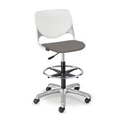 Figo Stool with Fabric or Polyurethane Seat, 70029