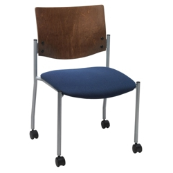 Armless Mobile Guest Chair, 76019