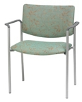 Upholstered Back Guest Chair with Arms, 76273
