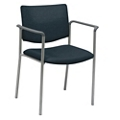 Upholstered Back Guest Chair with Arms, 76276