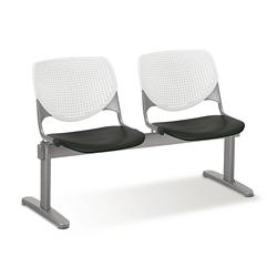 Figo Beam Seating with Two Polypropylene Seats, 76592