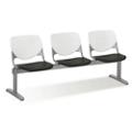 Figo Beam Seating with Three Polypropylene Seats, 76594