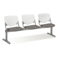 Figo Beam Seating with Three Fabric or Polyurethane Seats, 76595