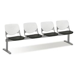 Figo Beam Seating with Four Polypropylene Seats, 76596