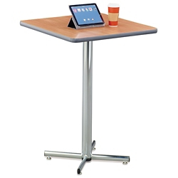 "Square Bar Height Breakroom Table - 36""W, 46653"