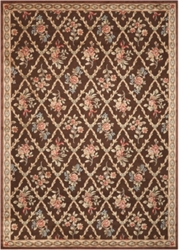 """kathy ireland by Nourison Floral Area Rug 7'9""""W x 10'10""""D, 82225"""
