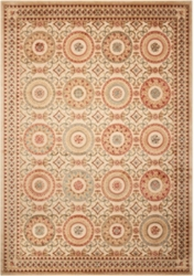 """kathy ireland by Nourison Ornate Circle Pattern Area Rug 7'9""""W x 10'10""""D, 82229"""