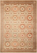 "kathy ireland by Nourison Ornate Circle Pattern Area Rug 7'9""W x 10'10""D, 82229"