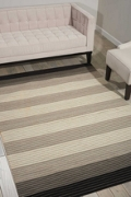 kathy ireland by Nourison Striped Area Rug - 8'W x 10.5'D, 82197