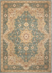 "kathy ireland by Nourison Traditional Persian Style Rug 9'10""W x 13'2""D, 82235"