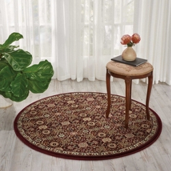 "kathy ireland by Nourison Medallion Area Rug 5'3"" DIA, 91534"