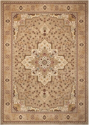 "kathy ireland by Nourison Large Medallion Area Rug 9'10""W x 13'2""D, 91542"