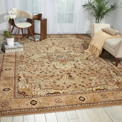 "kathy ireland by Nourison Large Medallion Area Rug 7'10""W x 10'10""D, 91540"