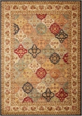 "kathy ireland by Nourison Patchwork Area Rug 9'3""W x 12'9""D, 82239"