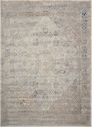 "kathy ireland by Nourison Bordered Leaf Area Rug 5'3""W x 7'7""D, 91575"