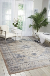 "kathy ireland by Nourison Botanical Area Rug 7'10""W x 10'10""D, 91581"