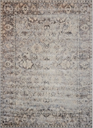 kathy ireland by Nourison Bordered Floral Area Rug 9'W x 12'D, 91587