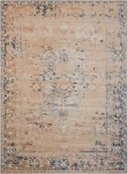 "kathy ireland by Nourison Bordered Vintage Area Rug 3'11""W x 5'7""D, 91594"