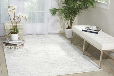 kathy ireland by Nourison Blossom Area Rug 8'W x 11'D, 91551