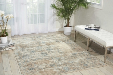 kathy ireland by Nourison Leaf and Vine Area Rug 8'W x 11'D, 91571
