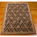 "kathy ireland by Nourison Floral Area Rug 5'3""W x 7'5""D, 82224"