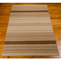 "kathy ireland by Nourison Striped Area Rug 5'3""W x 7'5""D, 82230"