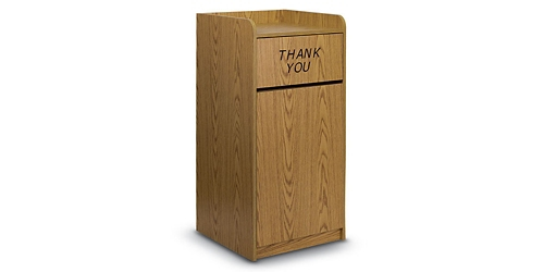 30 Gallon Trash Receptacle , 86410