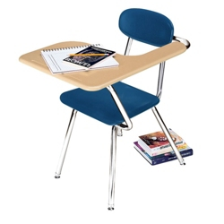 Student Chair Desk with Left Tablet Arm, 13804
